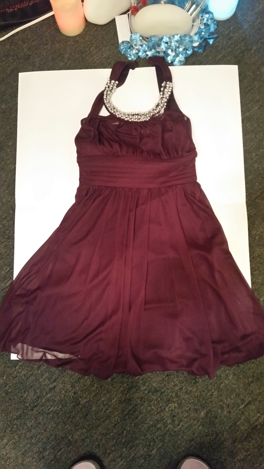 Red Party Wear Dress $75